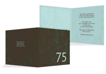 Einladung Herbst 75