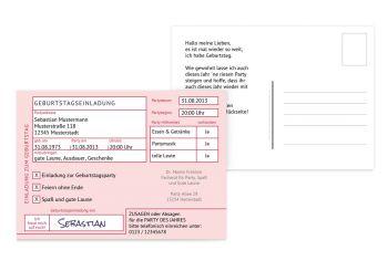 geburtstagseinladungen & einladungskarten geburtstag, Einladungen