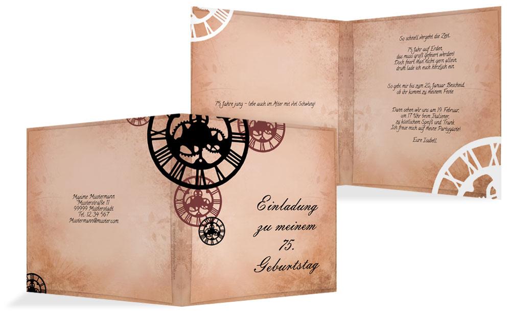 Musterset · Einladung Schöne ...