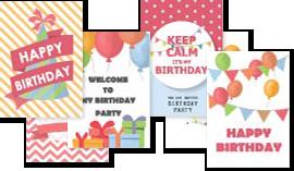 Einladungskarten Geburtstag Die Schon Beim Verschicken Jubel, Trubel,  Heiterkeit Versprühen